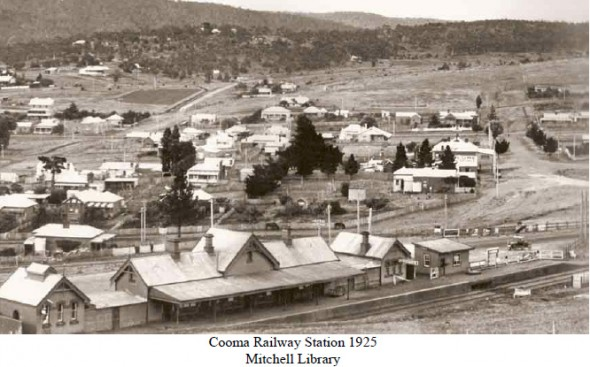 Cooma Railway Station 1925