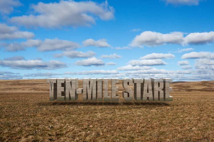 Ten-Mile Stare