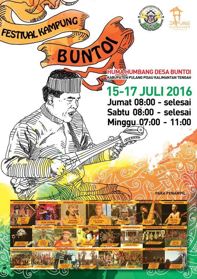 Poster Festival Kampung Buntoi